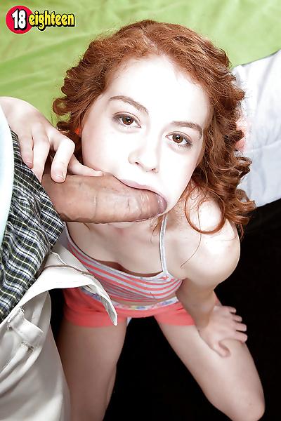 18 year old redhead Alice..