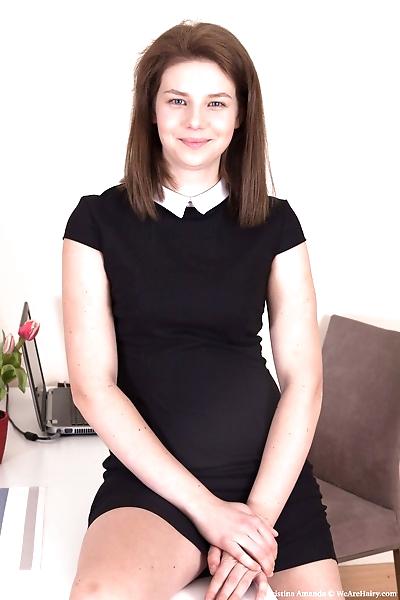 Young amateur Kristina..