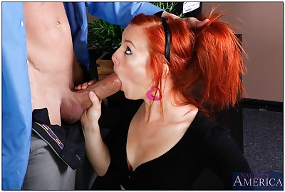 Young ginger-haired porn..