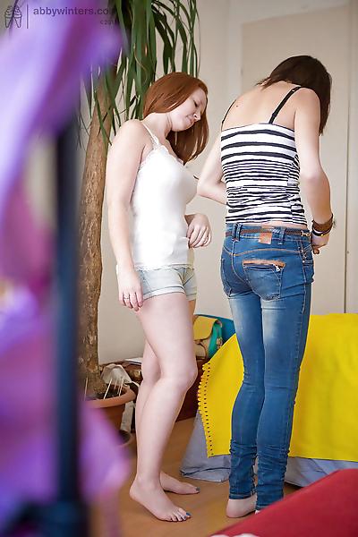 Young amateur girls Bisera..