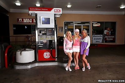 Hot blondes madison, shawna..