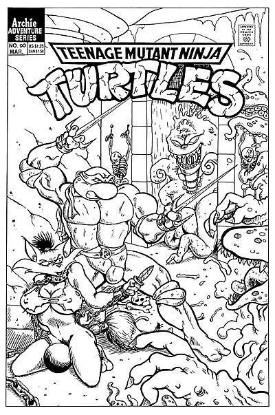 Teenage Mutant Ninja Turtles..