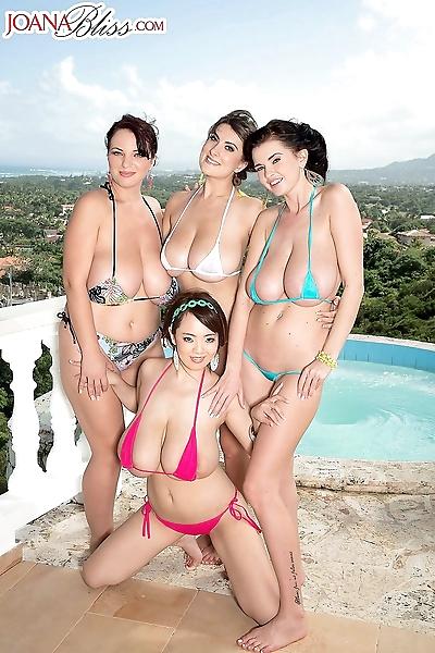 The greatest bikini team..