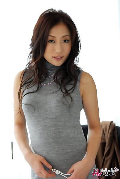 Japanese girl Yuki Motoyama..