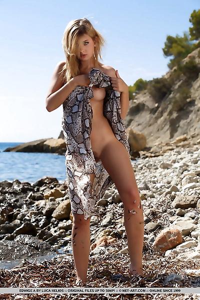 Blonde European Edwige A..